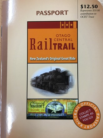 Rail Trail Passport