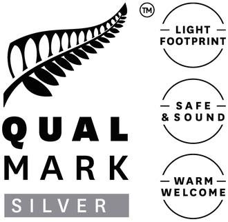 Qualmark Silver Award Logo Stacked