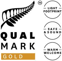 Qualmark Gold Award Logo Stacked